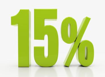 15% Na dobry początek